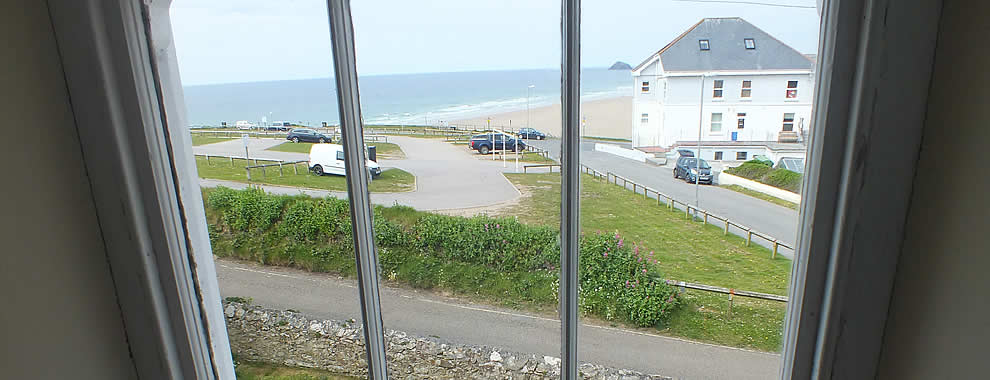 Seaviews from Tregundy Farmhouse